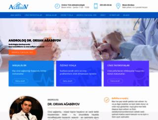 agabekov.az screenshot