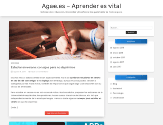 agae.es screenshot