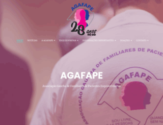 agafape.org.br screenshot