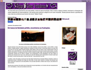 agape-amorverdadeiro.blogspot.com.br screenshot