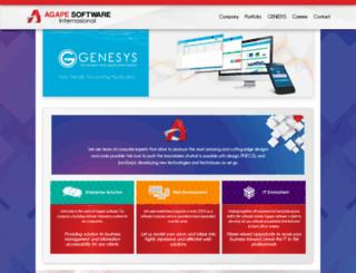 agapesoftware.net screenshot
