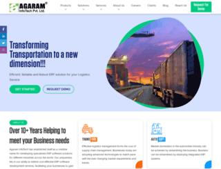 agaraminfotech.com screenshot