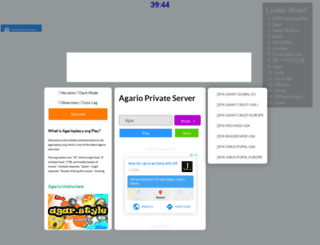 agarioplay.org screenshot