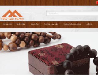 agarwoodphugiahung.com screenshot