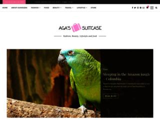 agasuitcase.com screenshot