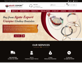agateexport.com screenshot