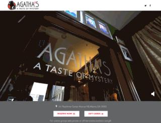 agathas.com screenshot