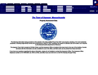 agawam.patriotproperties.com screenshot
