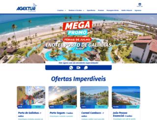 agaxturviagens.com.br screenshot