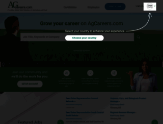 agcareers.com screenshot