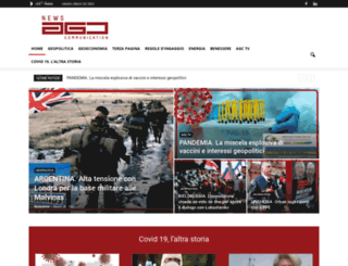 agccommunication.eu screenshot