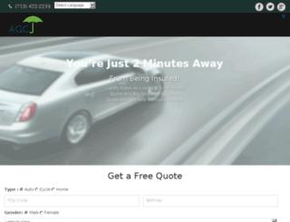 agcgeneralinsurance.com screenshot