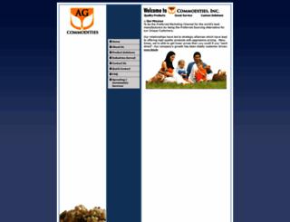 agcommoditiesinc.com screenshot