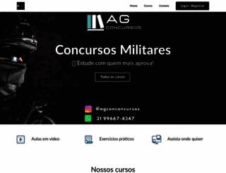 agconcursos.com.br screenshot