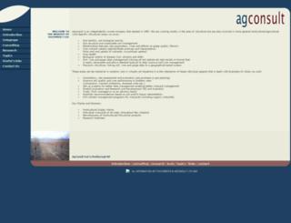 agconsult.co.nz screenshot