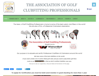 agcpgolf.com screenshot