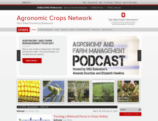 agcrops.osu.edu screenshot