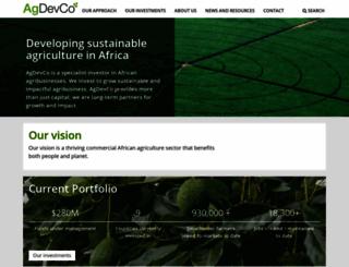 agdevco.com screenshot