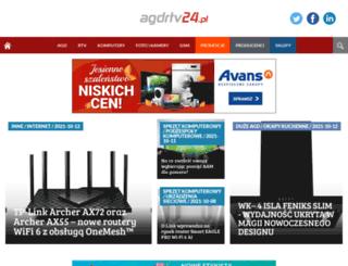 agdrtv24.pl screenshot