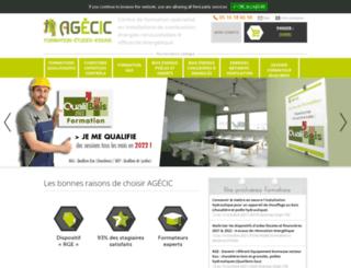 agecic.asso.fr screenshot