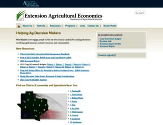 agecoext.tamu.edu screenshot
