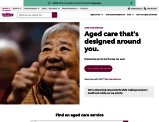 agedcare.com.au screenshot