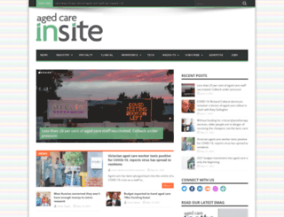 agedcareinsite.com.au screenshot