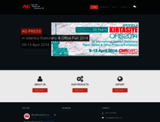 agediciones.com screenshot