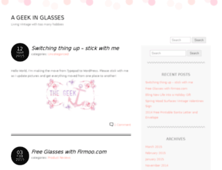 ageekinglasses.com screenshot