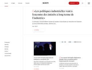 agefi.ch screenshot