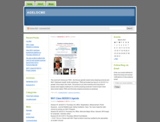 agelocme.wordpress.com screenshot