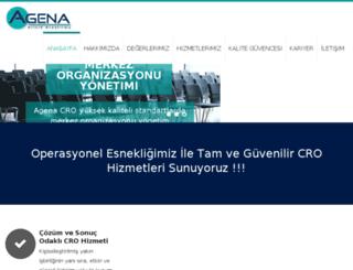 agena-cro.com screenshot