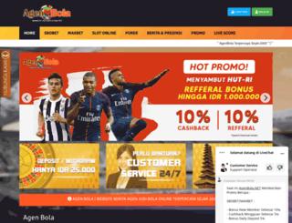 agenbola.net screenshot