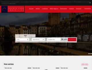 agence-luga.com screenshot