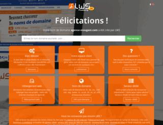 agence-mougani.com screenshot
