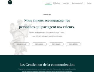 agence-mute.fr screenshot