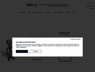 agence-plus.com screenshot