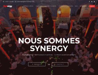 agence-synergy.com screenshot