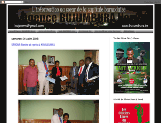 agencebujanews.blogspot.be screenshot