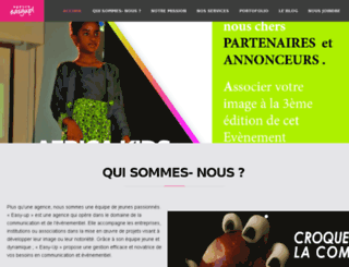 agenceeasyup.com screenshot