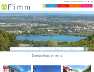 agencefimm.com screenshot