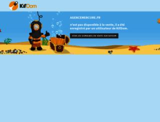 agencemercure.fr screenshot