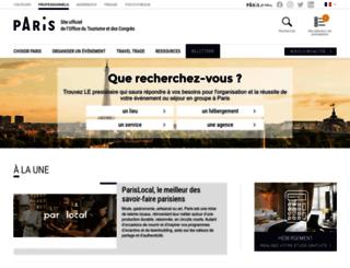 agences-et-operateurs.parisinfo.com screenshot