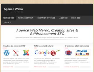 agencewebo.com screenshot