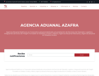 agenciaaduanal.net screenshot