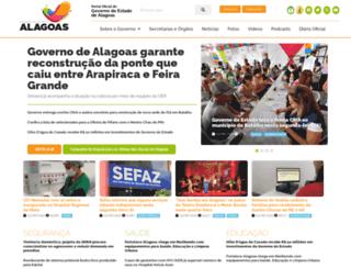 agenciaalagoas.al.gov.br screenshot