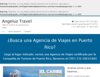 agenciadeviajespuertorico.com screenshot