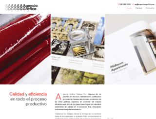agenciagrafica.es screenshot