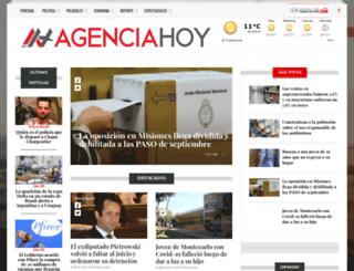 agenciahoy.com.ar screenshot