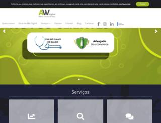 agenciawld.com.br screenshot